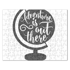 Adventure Is Out There Rectangular Jigsaw Puzzl