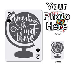 Adventure Is Out There Playing Cards 54 Designs