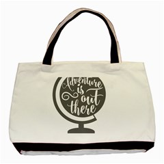 Adventure Is Out There Basic Tote Bag (Two Sides)