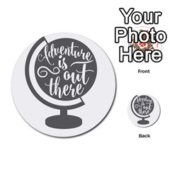 Adventure Is Out There Multi Purpose Cards (round)