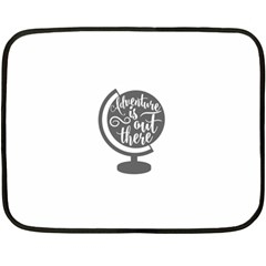Adventure Is Out There Fleece Blanket (mini)