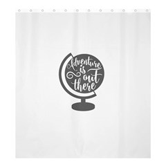 Adventure Is Out There Shower Curtain 66  x 72  (Large)