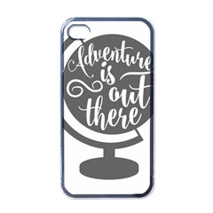Adventure Is Out There Apple iPhone 4 Case (Black)