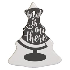 Adventure Is Out There Christmas Tree Ornament (2 Sides)