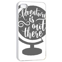 Adventure Is Out There Apple Iphone 4/4s Seamless Case (white)