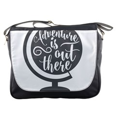Adventure Is Out There Messenger Bags