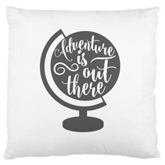Adventure Is Out There Large Cushion Cases (One Side)