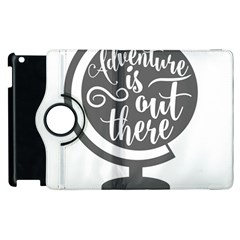 Adventure Is Out There Apple iPad 3/4 Flip 360 Case