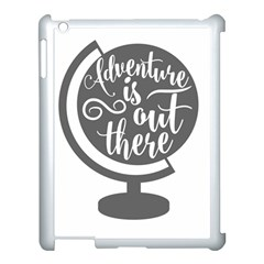 Adventure Is Out There Apple iPad 3/4 Case (White)