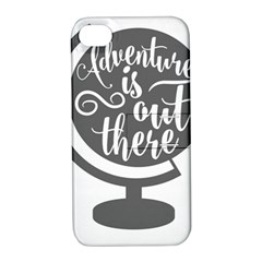 Adventure Is Out There Apple iPhone 4/4S Hardshell Case with Stand
