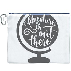 Adventure Is Out There Canvas Cosmetic Bag (XXXL)