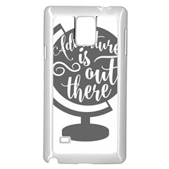 Adventure Is Out There Samsung Galaxy Note 4 Case (White)