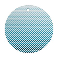 Perfectchevron Round Ornament (Two Sides)