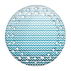 Perfectchevron Round Filigree Ornament (2Side)
