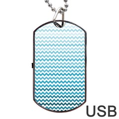 Perfectchevron Dog Tag USB Flash (One Side)