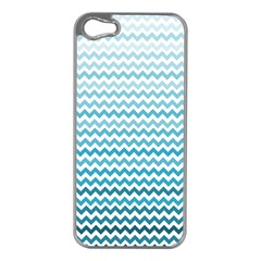 Perfectchevron Apple iPhone 5 Case (Silver)