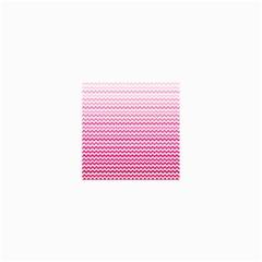 Pink Gradient Chevron Collage 12  x 18