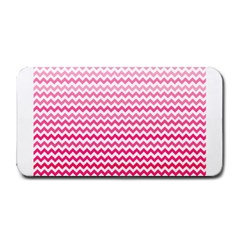 Pink Gradient Chevron Medium Bar Mats