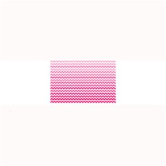 Pink Gradient Chevron Large Bar Mats