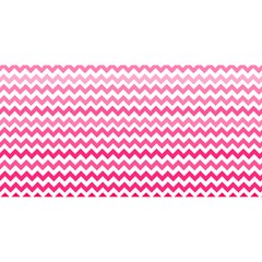 Pink Gradient Chevron You Are Invited 3d Greeting Card (8x4)