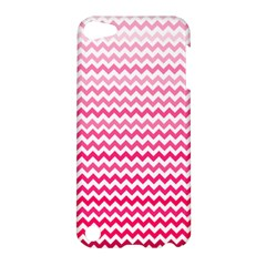 Pink Gradient Chevron Apple iPod Touch 5 Hardshell Case