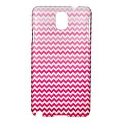 Pink Gradient Chevron Samsung Galaxy Note 3 N9005 Hardshell Case