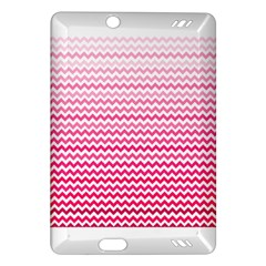 Pink Gradient Chevron Kindle Fire HD (2013) Hardshell Case
