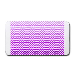 Purple Gradient Chevron Medium Bar Mats
