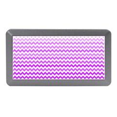 Purple Gradient Chevron Memory Card Reader (mini)