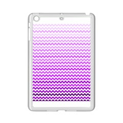 Purple Gradient Chevron iPad Mini 2 Enamel Coated Cases