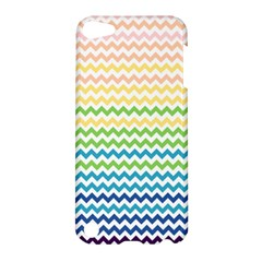 Pastel Gradient Rainbow Chevron Apple iPod Touch 5 Hardshell Case