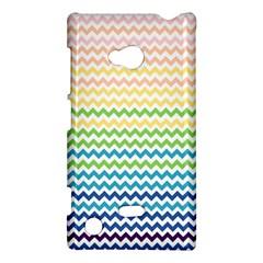 Pastel Gradient Rainbow Chevron Nokia Lumia 720