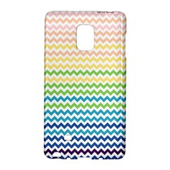 Pastel Gradient Rainbow Chevron Galaxy Note Edge