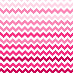 Pink Gradient Chevron Large Magic Photo Cubes