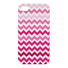 Pink Gradient Chevron Large Apple iPhone 4/4S Hardshell Case