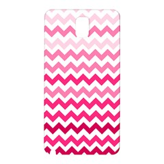 Pink Gradient Chevron Large Samsung Galaxy Note 3 N9005 Hardshell Back Case