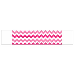 Pink Gradient Chevron Large Flano Scarf (small)