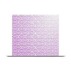 Purple Damask Gradient Plate Mats
