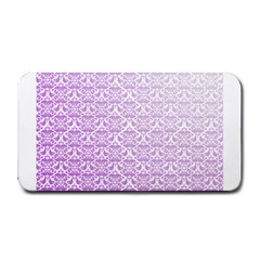 Purple Damask Gradient Medium Bar Mats
