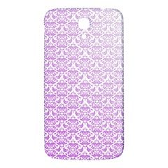Purple Damask Gradient Samsung Galaxy Mega I9200 Hardshell Back Case