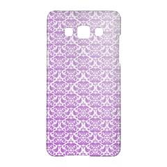 Purple Damask Gradient Samsung Galaxy A5 Hardshell Case