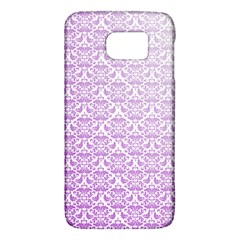 Purple Damask Gradient Galaxy S6