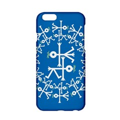 Birds And Olive Branch Circle Icon Apple iPhone 6/6S Hardshell Case