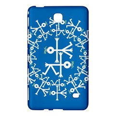 Birds And Olive Branch Circle Icon Samsung Galaxy Tab 4 (7 ) Hardshell Case