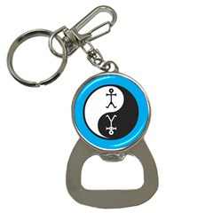 Yin And Yang Icon  Bottle Opener Key Chains