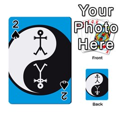 Yin And Yang Icon  Playing Cards 54 Designs