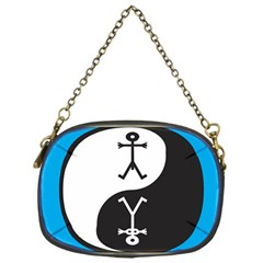Yin And Yang Icon  Chain Purses (One Side)