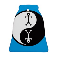 Yin And Yang Icon  Ornament (Bell)