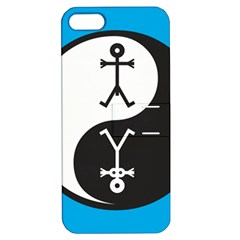 Yin And Yang Icon  Apple iPhone 5 Hardshell Case with Stand
