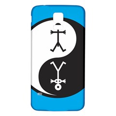 Yin And Yang Icon  Samsung Galaxy S5 Back Case (White)